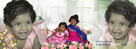 Kavishana 1st Birthday
